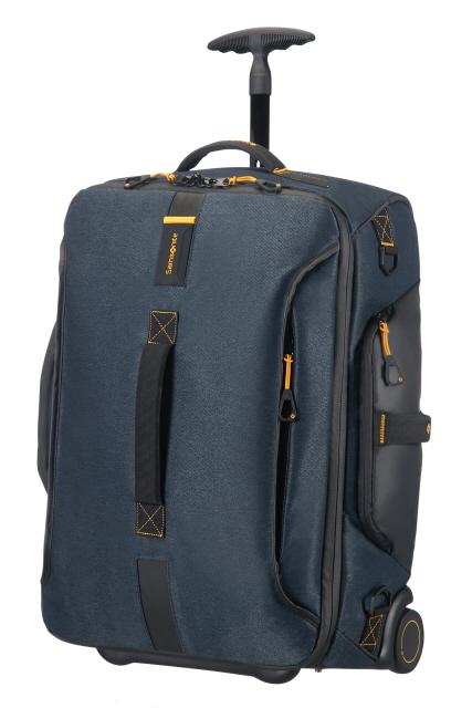 Reisetasche mit Rollen 55cm Rucksack Jeans Blue