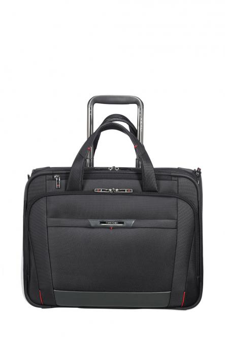 "Rolling Tote mit Laptopfach 15.6"" Black"