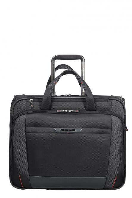 "Rolling Tote mit Laptopfach 17,3"" Black"