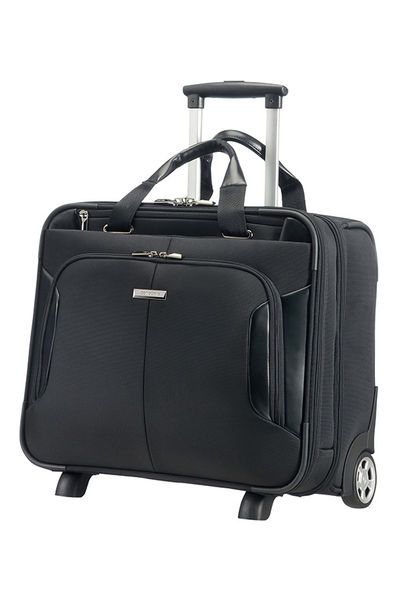 """Rolling Tote 15.6"""" Black"""