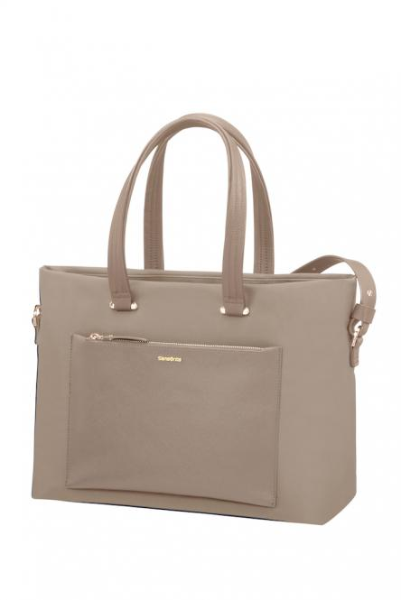 "Shopping Bag 15.6"" Beige"