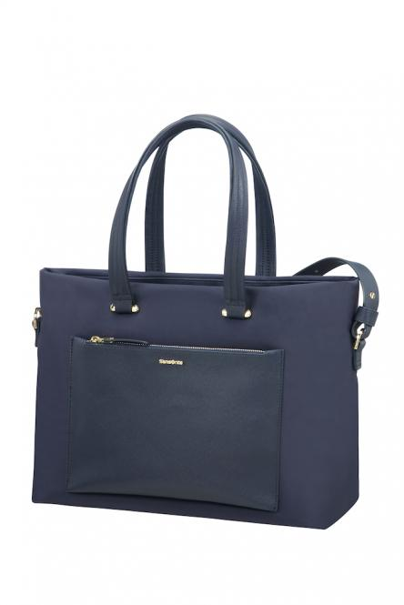 "Shopping Bag 15.6"" Dark Blue"