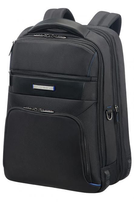 "Laptop Backpack 15.6"" Expandable Black"