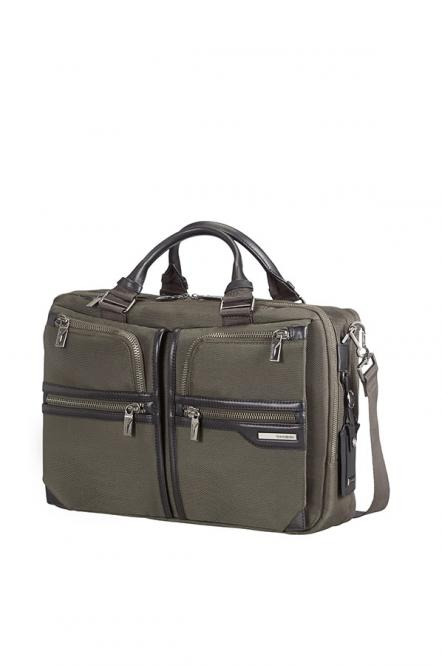 Bailhandle 2 Compartments Expandable 15,6 Zoll Dark Olive/Black