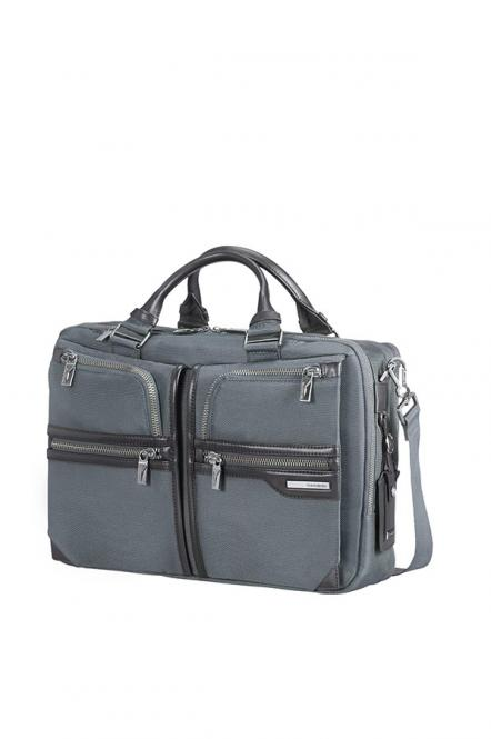 Bailhandle 2 Compartments Expandable 15,6 Zoll Grey/Black