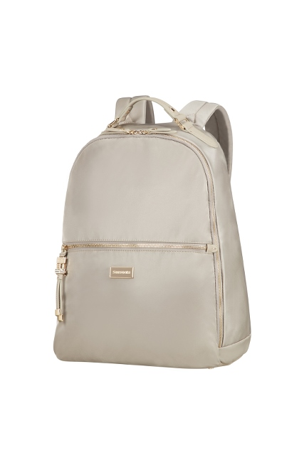 "Backpack mit Laptopfach 14.1"" light taupe"