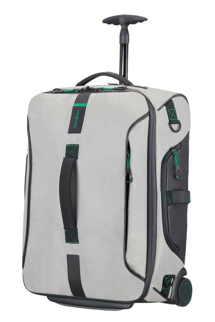 Reisetasche mit Rollen 55cm Rucksack Jeans Grey