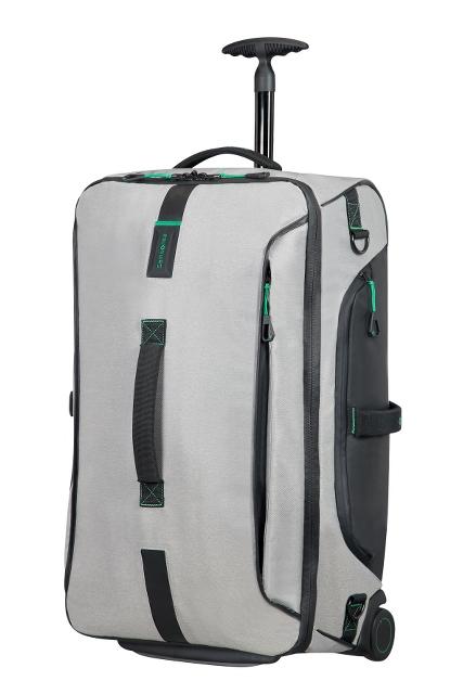 Reisetasche mit Rollen 67cm Jeans Grey