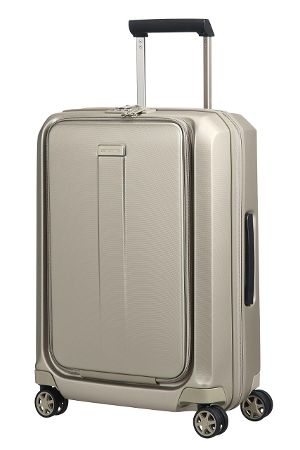 Spinner 55cm Cabin Trolley Ivory Gold