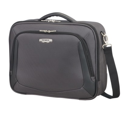 "Laptop Schultertasche 16"" Grey/Black"
