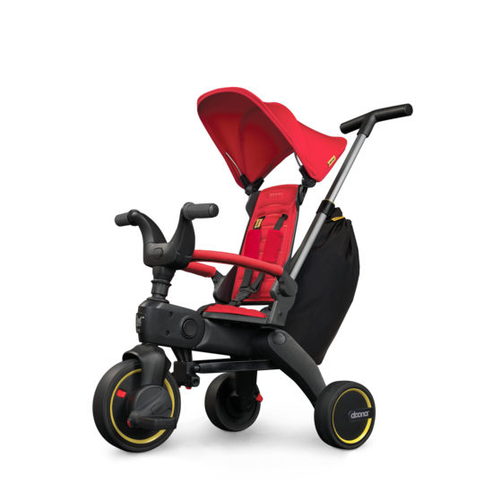 S3 Faltbares Kinder-Dreirad Flame Red