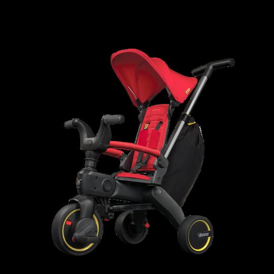 S3 Faltbares Kinder-Dreirad Flame Red