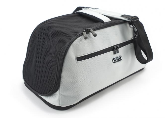 Hundetragetasche Katzentragetasche gemäß IATA Glacier Silver