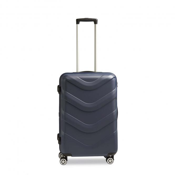 Trolley M, 4 Rollen blue