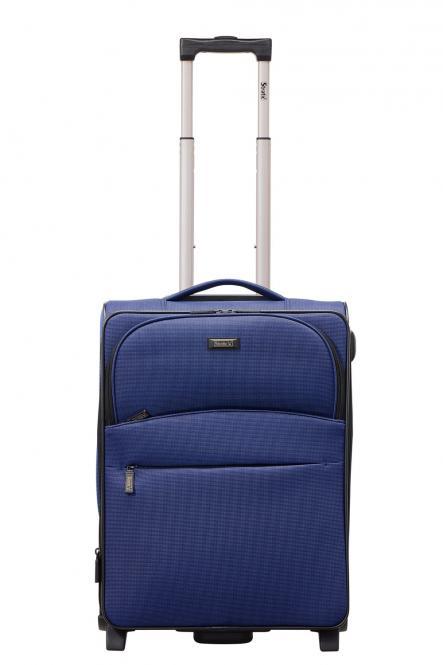 Trolley S 2R 55cm, erweiterbar blau