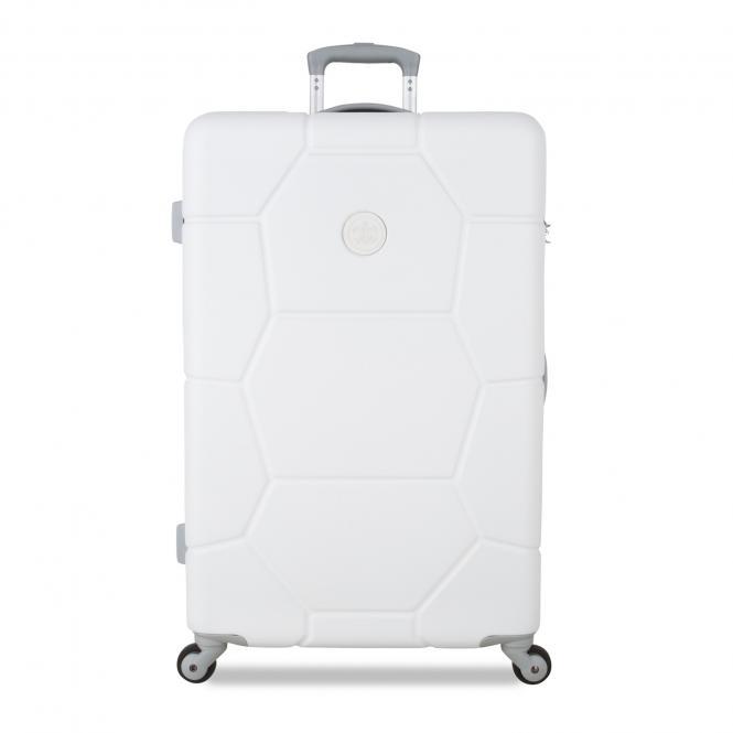 Trolley 76cm Spinner Shell White