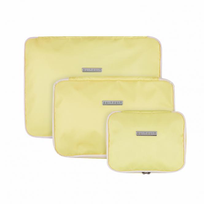Packing Cube Set (S-M-L) Mango Cream