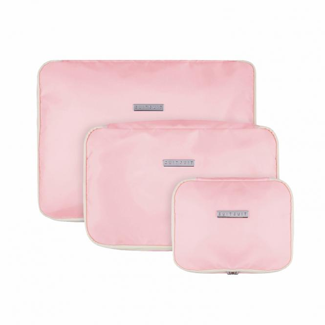 Packing Cube Set (S-M-L) Pink Dust