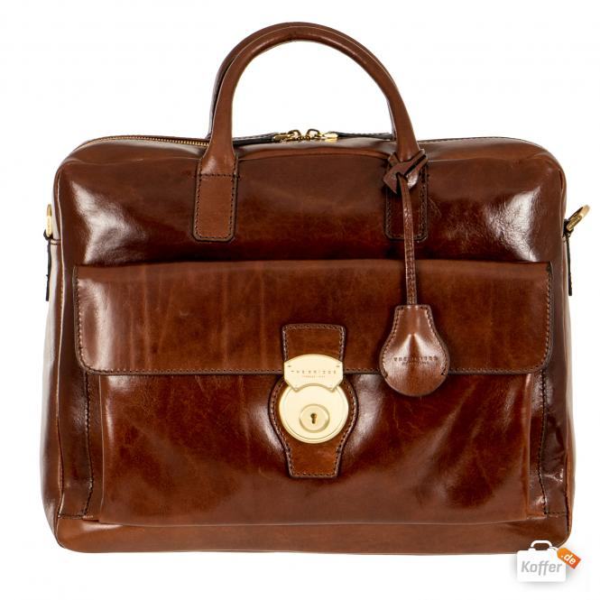 Aktentasche brown/gold