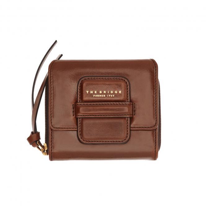 Damengeldbörse brown/gold