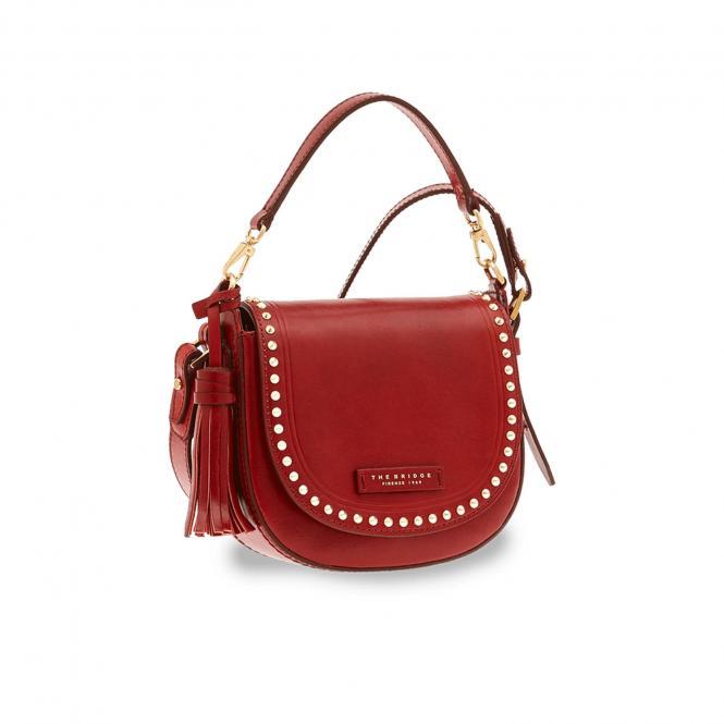 Damentasche Rote Johannisbeere/Gold