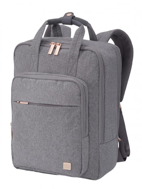 "Backpack mit Laptopfach 14"" Grey"