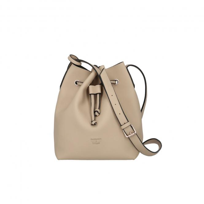 Bucket Bag 22cm Sand