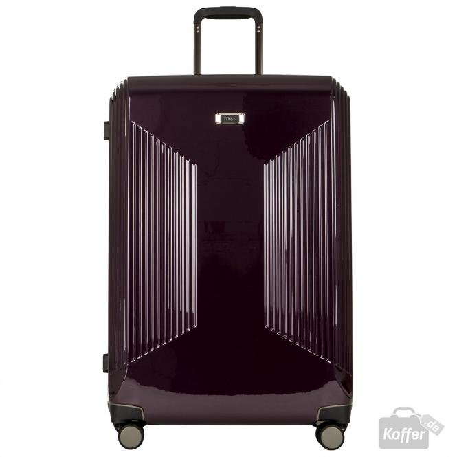Trolley L 4 Rollen Dark Purple