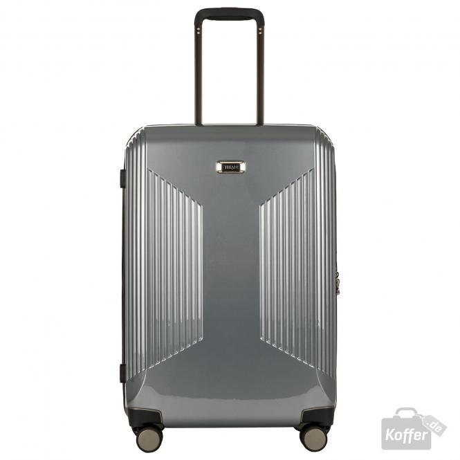 Trolley M 4 Rollen, erweiterbar Silver