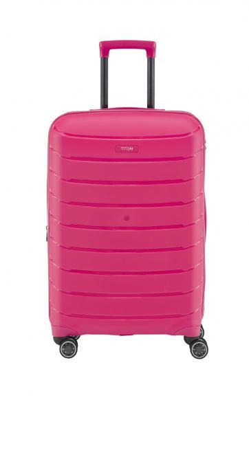 Trolley M 4w, erweiterbar hot pink