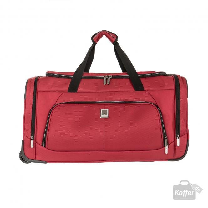 Trolley Travelbag 2w red