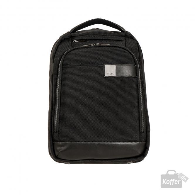 "Backpack slim mit Laptopfach 15.6"" black"