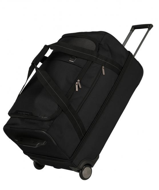 Travelbag L, Reisetasche 2 Rollen Black
