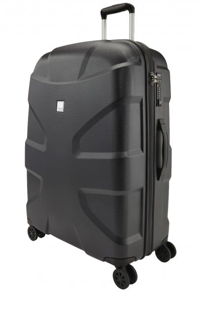 Trolley L 4w Black Shark Skin