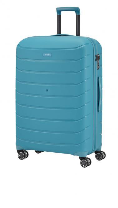 Trolley S 4w aqua blue