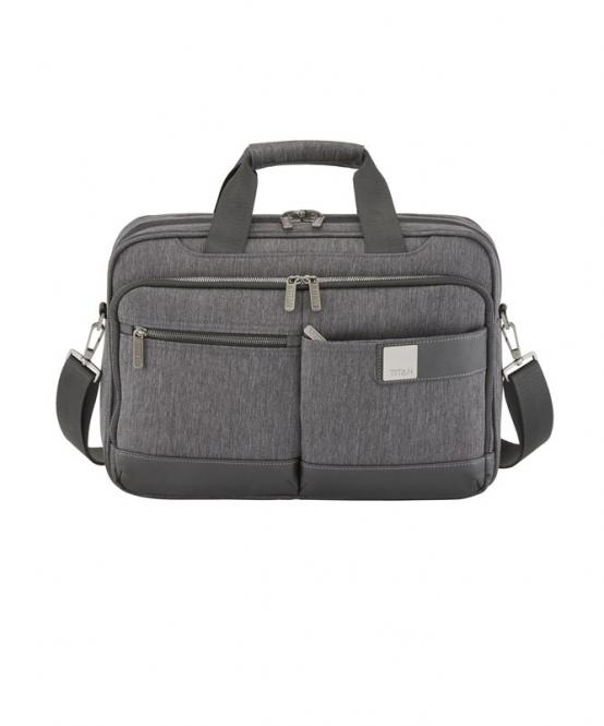 Laptop Bag S Exp. Mixed Grey