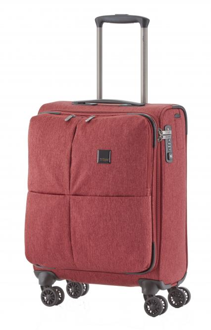 Trolley S 55cm 4 Rollen Red