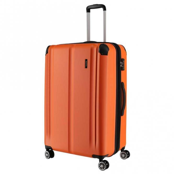 Trolley L 4R 77cm erweiterbar Orange