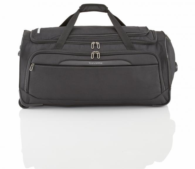 Rollen-Reisetasche L 2w schwarz