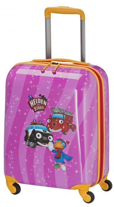 Trolley S 4R 47cm pink