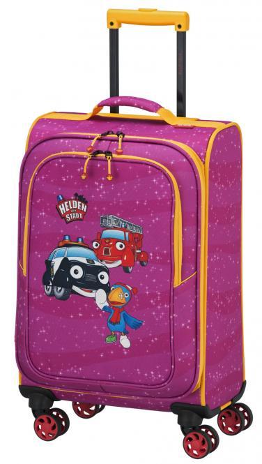 Trolley S 4R 54cm pink
