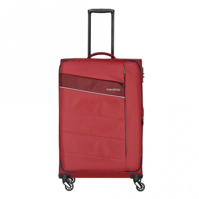 Trolley L 4w 75 cm, erweiterbar Rot