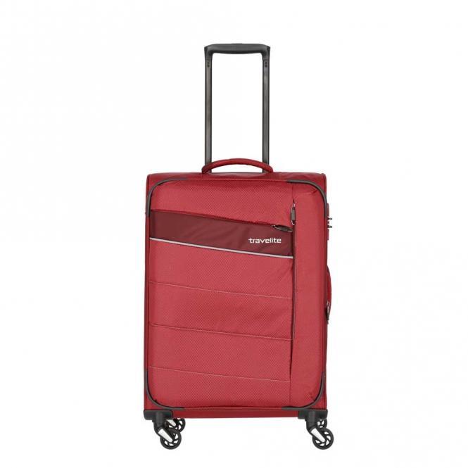 Trolley M 4w 64 cm, erweiterbar Rot