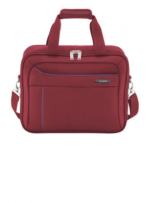 Bordtasche rot-blau