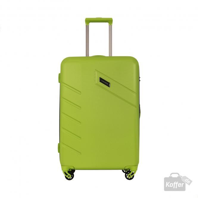 Trolley M 4w 68 cm, erweiterbar Grün