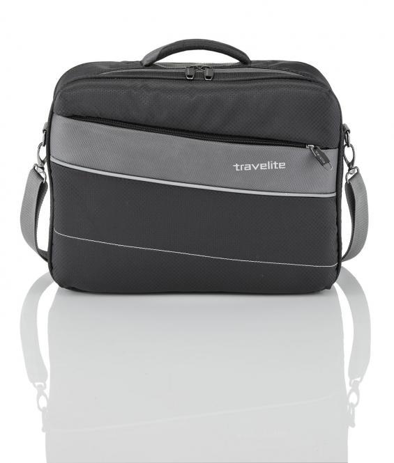 """Bordtasche mit Laptopfach 17"""" Schwarz"""