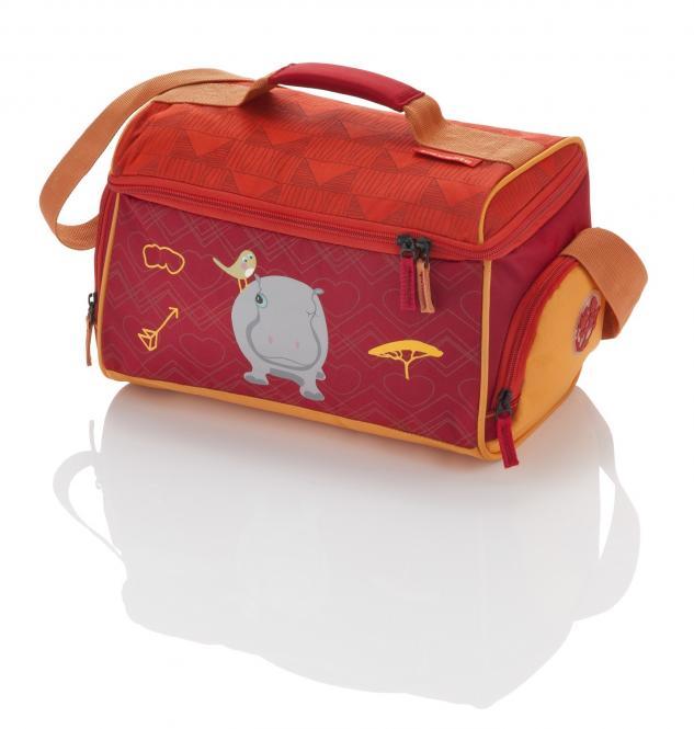Reisetasche Nilpferd - Rot