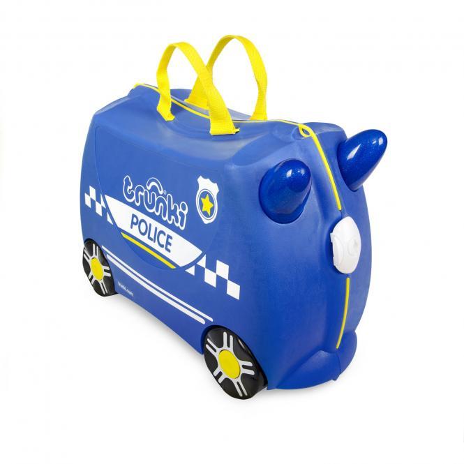 Polizeiauto Percy Kinderkoffer Polizeiauto Percy
