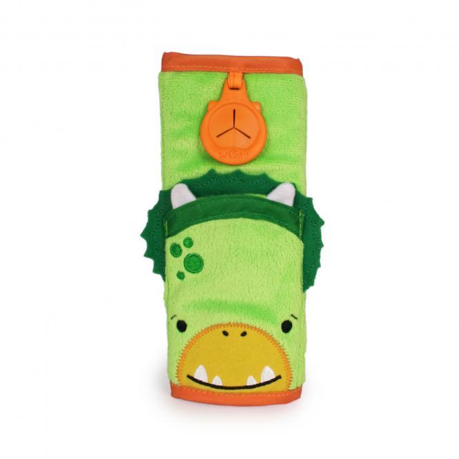 Gurtpolster Dino Dudley - Grün
