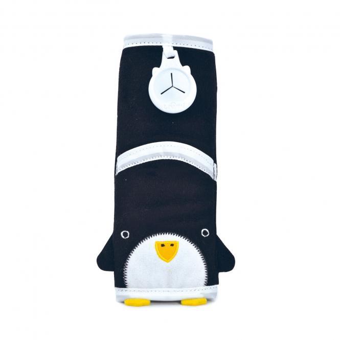 Gurtpolster Pinguin Pippin - Schwarz